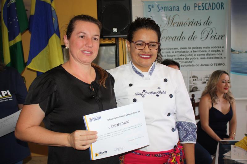 Feapi realiza certificação de alunos de panificação e corte e costura