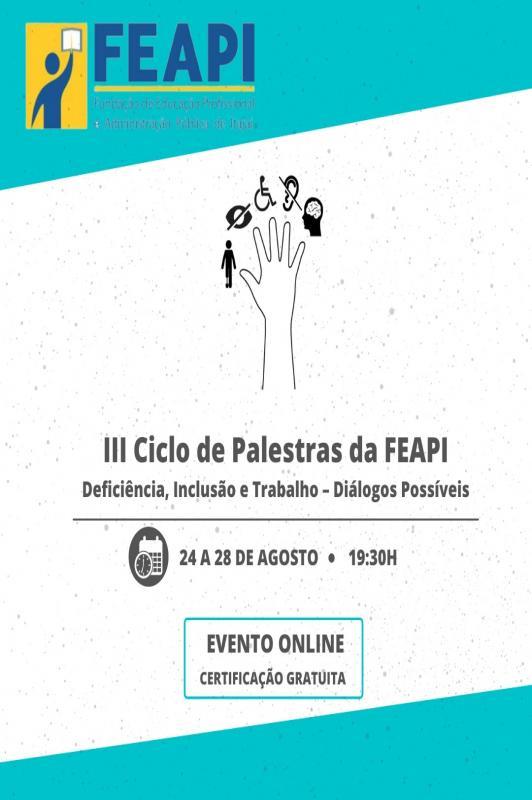 FEAPI promove ciclo de palestras e desfile na Semana da Pessoa com Deficiência em Itajaí