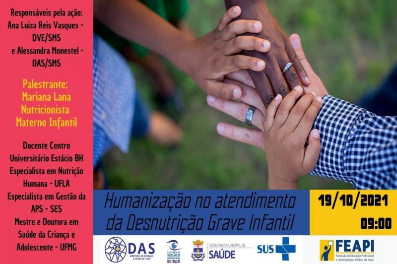 Município de Itajaí promove palestra on-line alusiva ao Dia Mundial da Alimentação