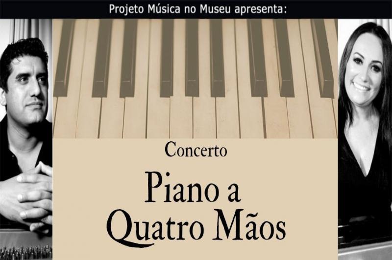 Projeto Música no Museu apresenta concerto de piano a quatro mãos