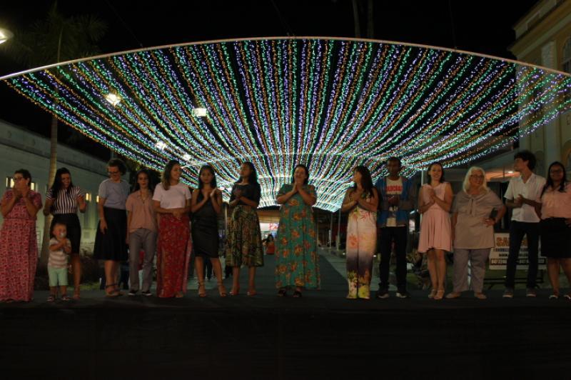Hercílio Luz recebe desfile de moda da Feapi